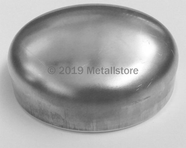 88,9x3mm Klöpperboden Aluminium AlMg3