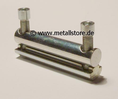 Profil Bolzenverbinder - einschiebbar - 80 mm-