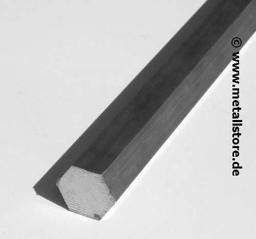 SW 45 AlCuMgPb Aluminium sechskant