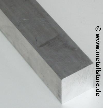 40 x 40 mm vierkant AlZnMgCu1,5 Aluminium