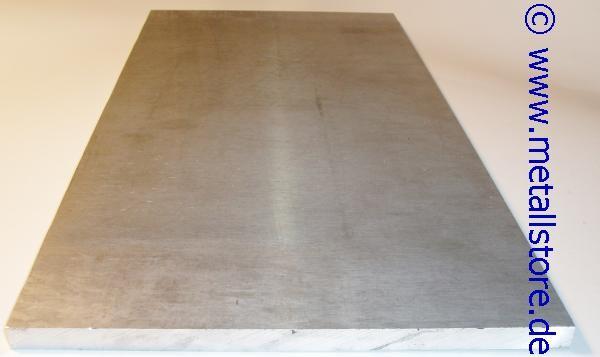 20 mm x 200 x 400 mm ALU Platte AlMg4,5Mn