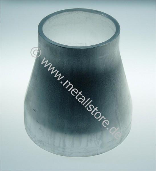 219 x 159 x 4 mm Aluminium Konus - konzentrische Reduzierung AlMg3