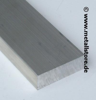 60x30 mm Aluminium flach AlMgSi0,5
