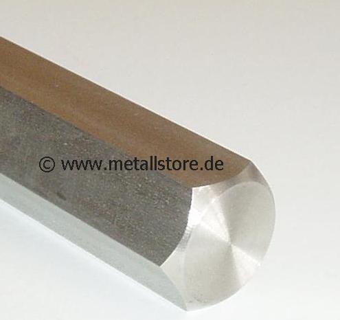 SW 4 mm Sechskant Edelstahl 1.4305