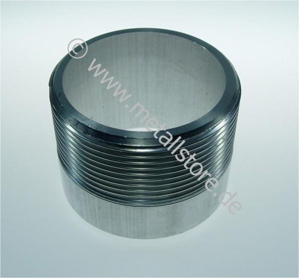 V4A Muffen DIN/ISO 228 (DIN 259)