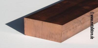 80x8 mm Cu-ETP Kupfer flach