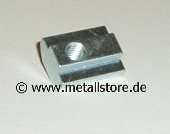Nut 8 Nutenstein 1 x M5 mit Steg -SCHWER-