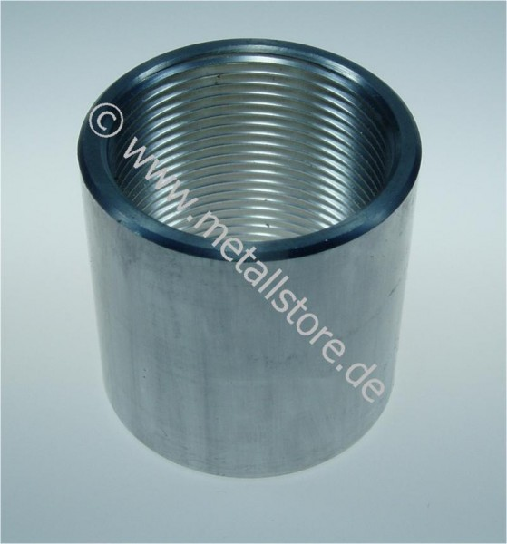 1/2 Zoll, 35 mm (35) Muffe - AlMgSi
