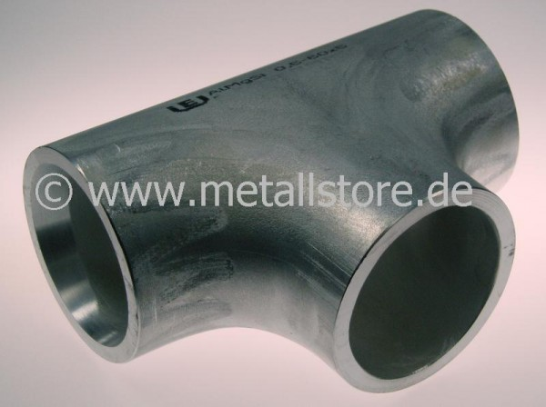 133 / 133 x 4,0 mm Aluminium T-Stück AlMgSi