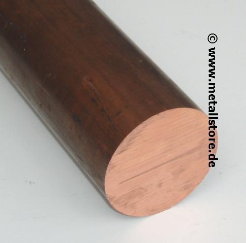 10 mm CuBe2 Kupfer rund