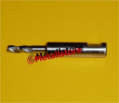 Ø 8 mm HSS-E Mini-Schaftfräser kurz