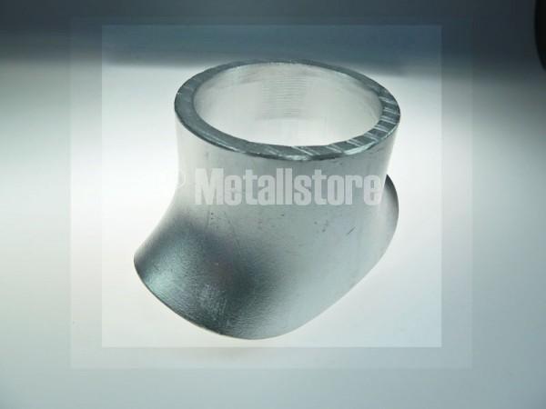 76x76x3 mm Aluminium Sattelstutzen AlMg3